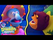"""The """"Campfire Song Song"""" with Puppets! 🐻 """"The Camping Episode"""" IRL - SpongeBob"""