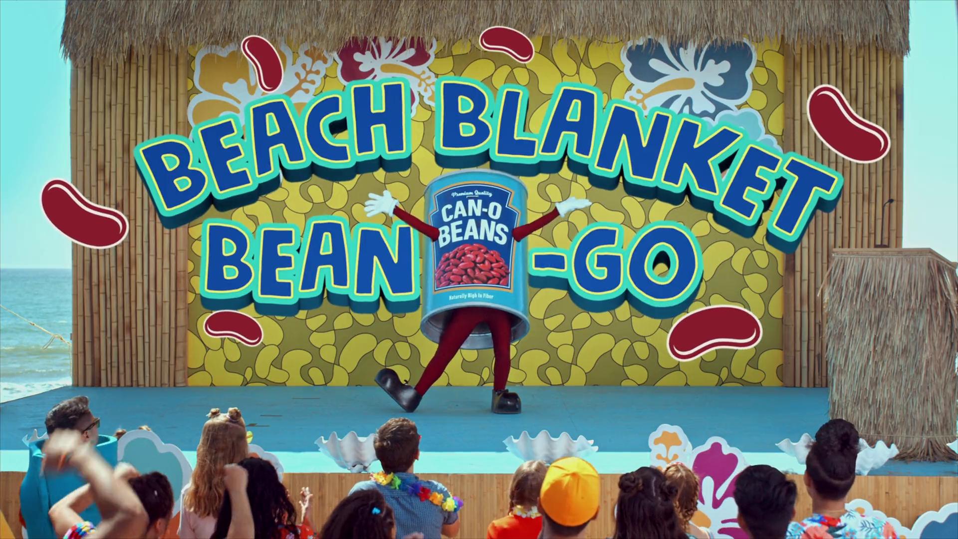 Beach Blanket Bean-Go