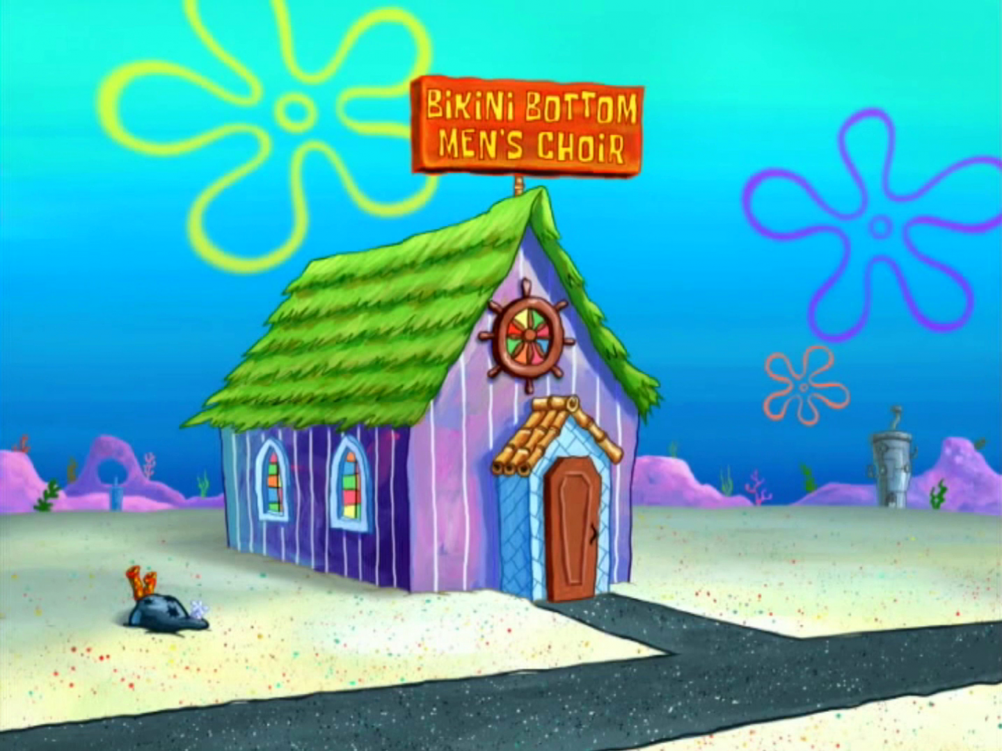 Bikini Bottom Men's Choir Studio