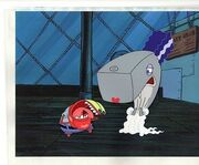 Pearl-and-mr-krabs-halloween-cel