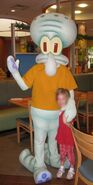 Squidward costume
