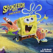 Sponge on the run 2021 calendar 1