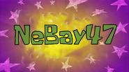 NeBay47 title card by Egor