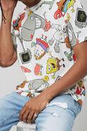 SpongeBob-main-characters-shirt-Forever-21