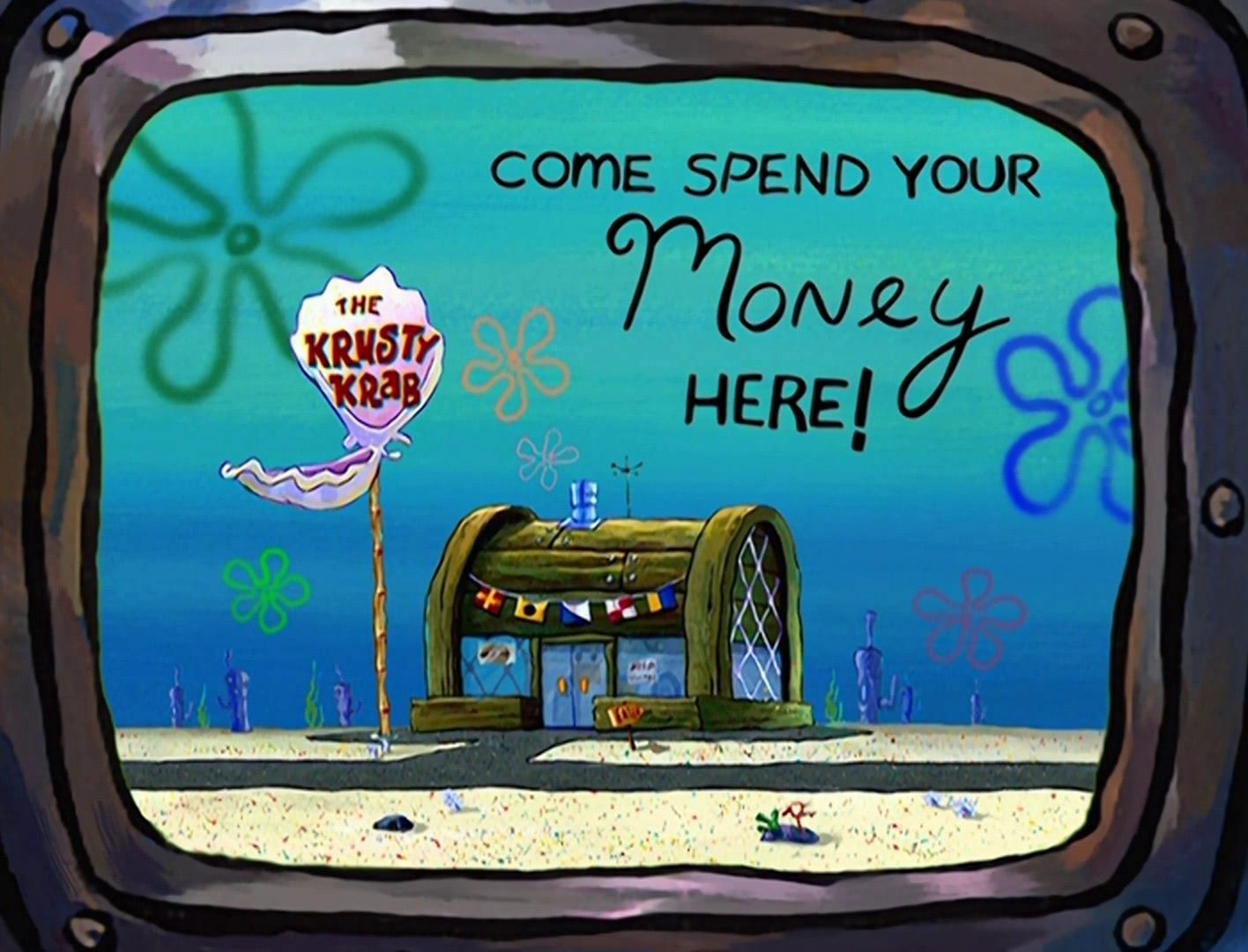 Krusty Krab commercial