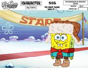 SpongeBob In Winter Gear