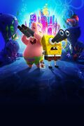 Sponge on the Run textless poster