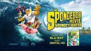 The SpongeBob Movie Sponge Out of Water - Blu-ray 3 Sing Alongs