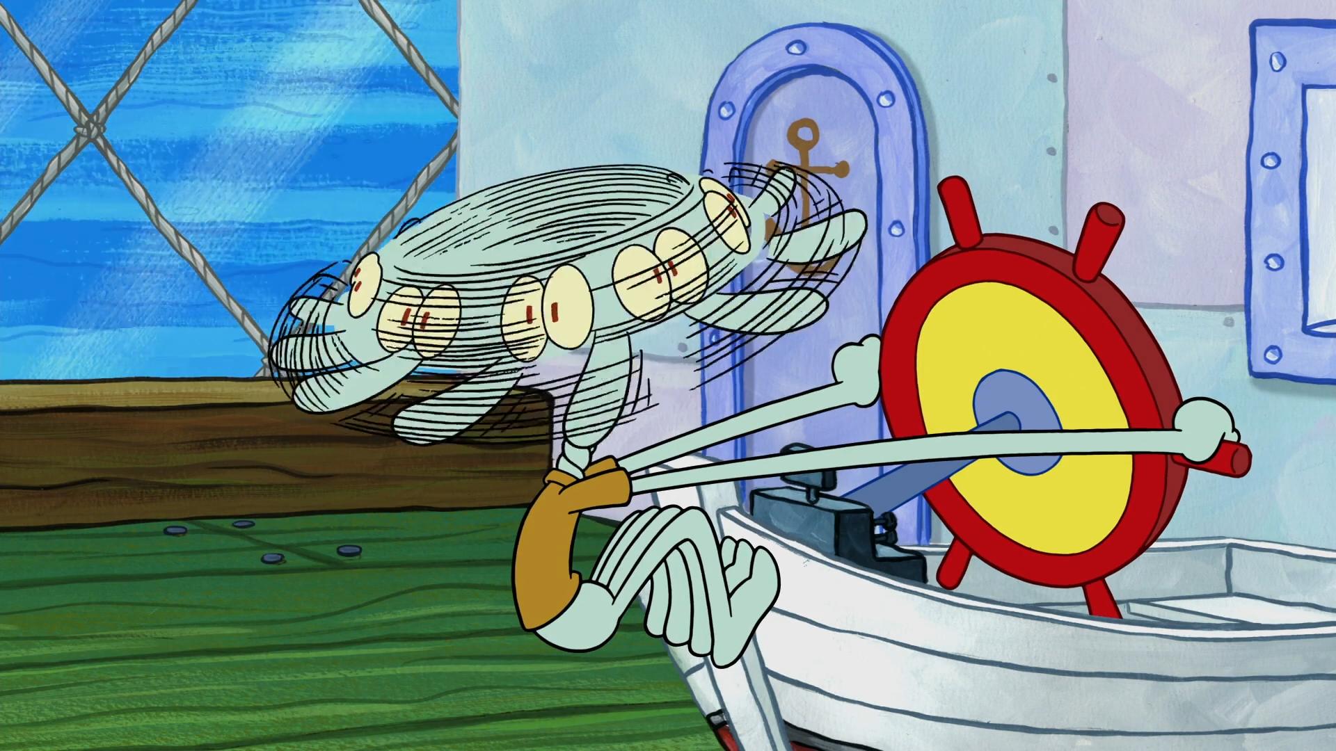 Sea monster (Mutiny on the Krusty)