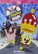 The SpongeBob SquarePants Movie French DVD
