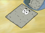 Patrick in Cement Form