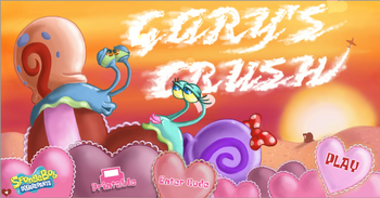 Old title screen