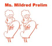 Ms. Mildred Preliminary art