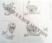 2011 ASIFA-East Auction SpongeBob production art2