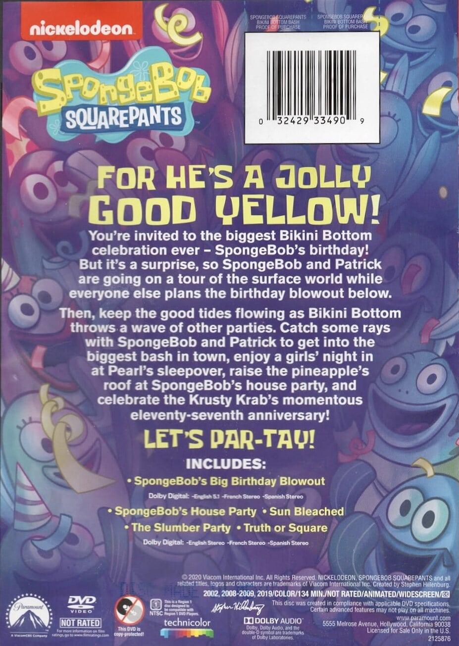 Bikini Bottom Bash (DVD)