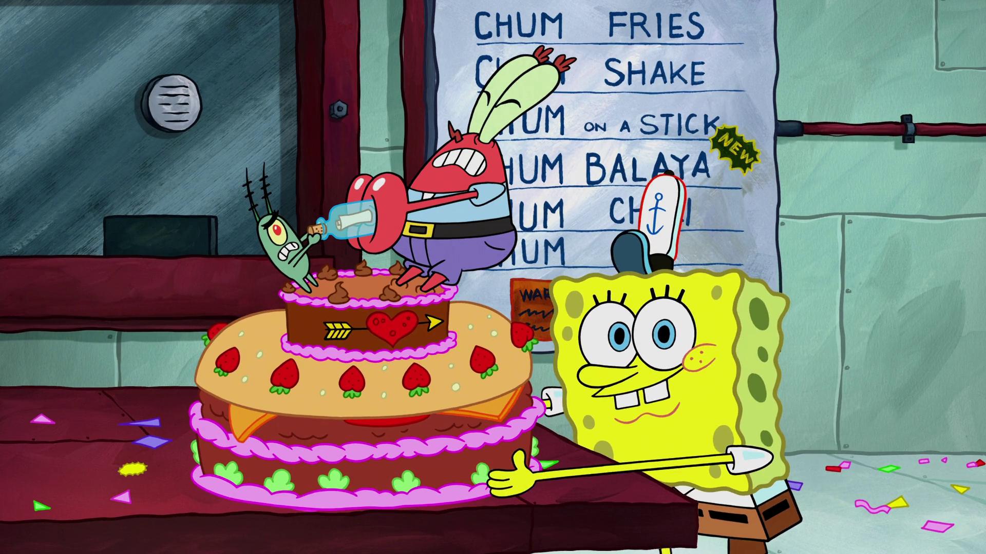 Secret formula anniversary cake
