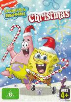 SpongeBob original Christmas Australian DVD