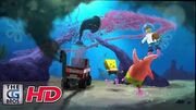 "CGI VFX Breakdowns ""SpongeBob SquarePants 4-D The Great Jelly Rescue!"" - by Framebreed"