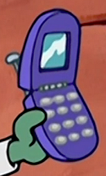 Plankton's cell phone