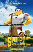 SpongeBob 3D Spons op hel Droge