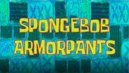SpongeBob ArmorPants title card by Egor