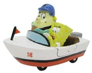 Nickelodeon SpongeBob SquarePants Mrs. Puff Aquarium Ornament