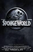 The SpongeBob Movie - Sponge Out of Water Jurassic World poster