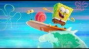 The SpongeBob Movie Sponge on the Run World Oceans Day