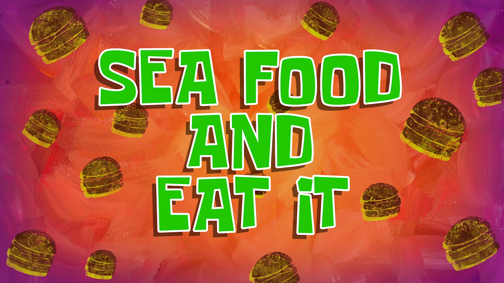 Sea Food and Eat It