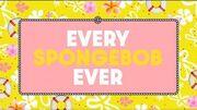 Every SpongeBob ever July 2019 marathon commercial - Nicktoons