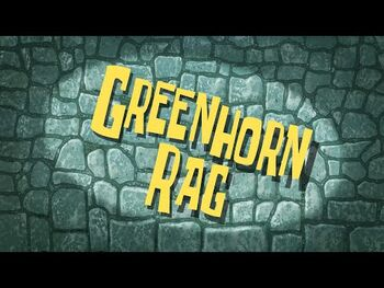 Greenhorn Rag
