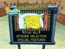 Spongicus Main Menu