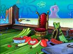 Mr. Krabs in Pieces