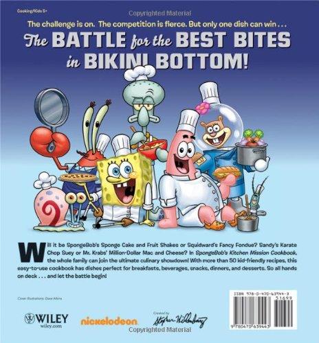 SpongeBob's Kitchen Mission Cookbook