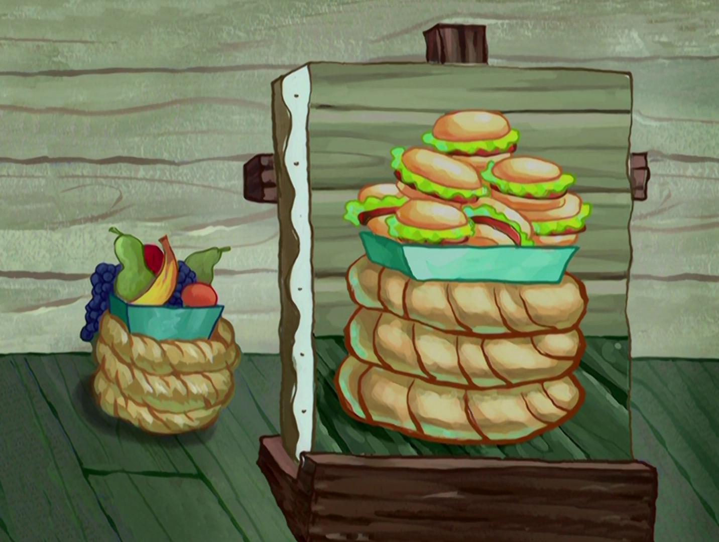 Synthetic Krabby Patty