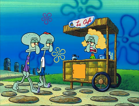 Café stand owner
