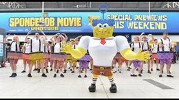 The SpongeBob Movie Sponge Out of Water - Day of Positivity FlashBobs UK