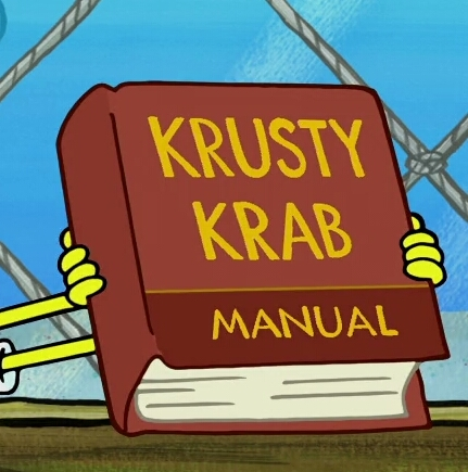 Krusty Krab Manual