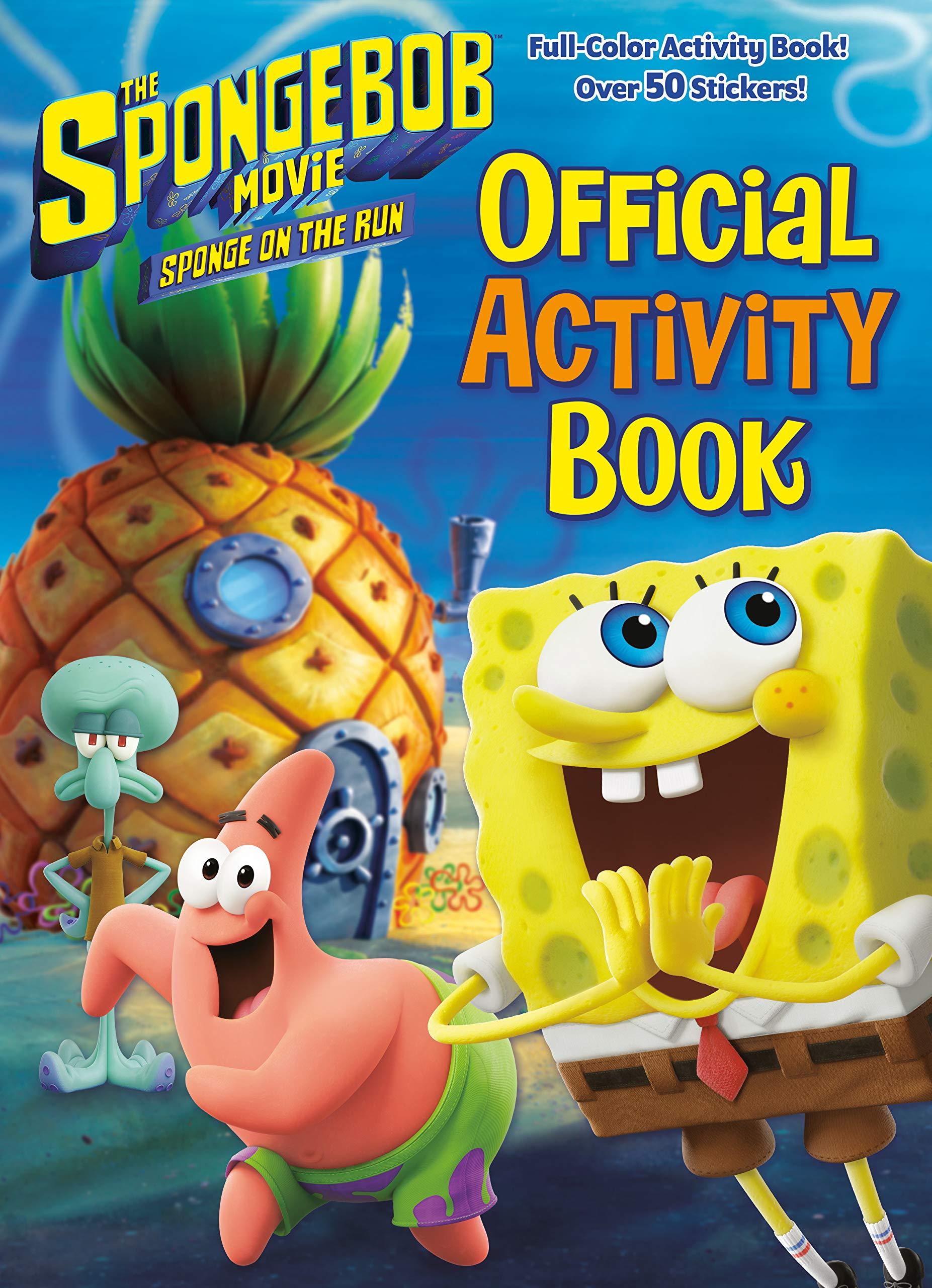 The SpongeBob Movie: Sponge on the Run - Official Activity Book