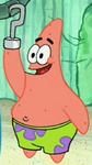Patrick Wearing a Hook