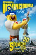 The SpongeBob Movie- Sponge Out of Water - Invincibubble poster