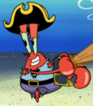 Young Mr. Krabs as a Pirate
