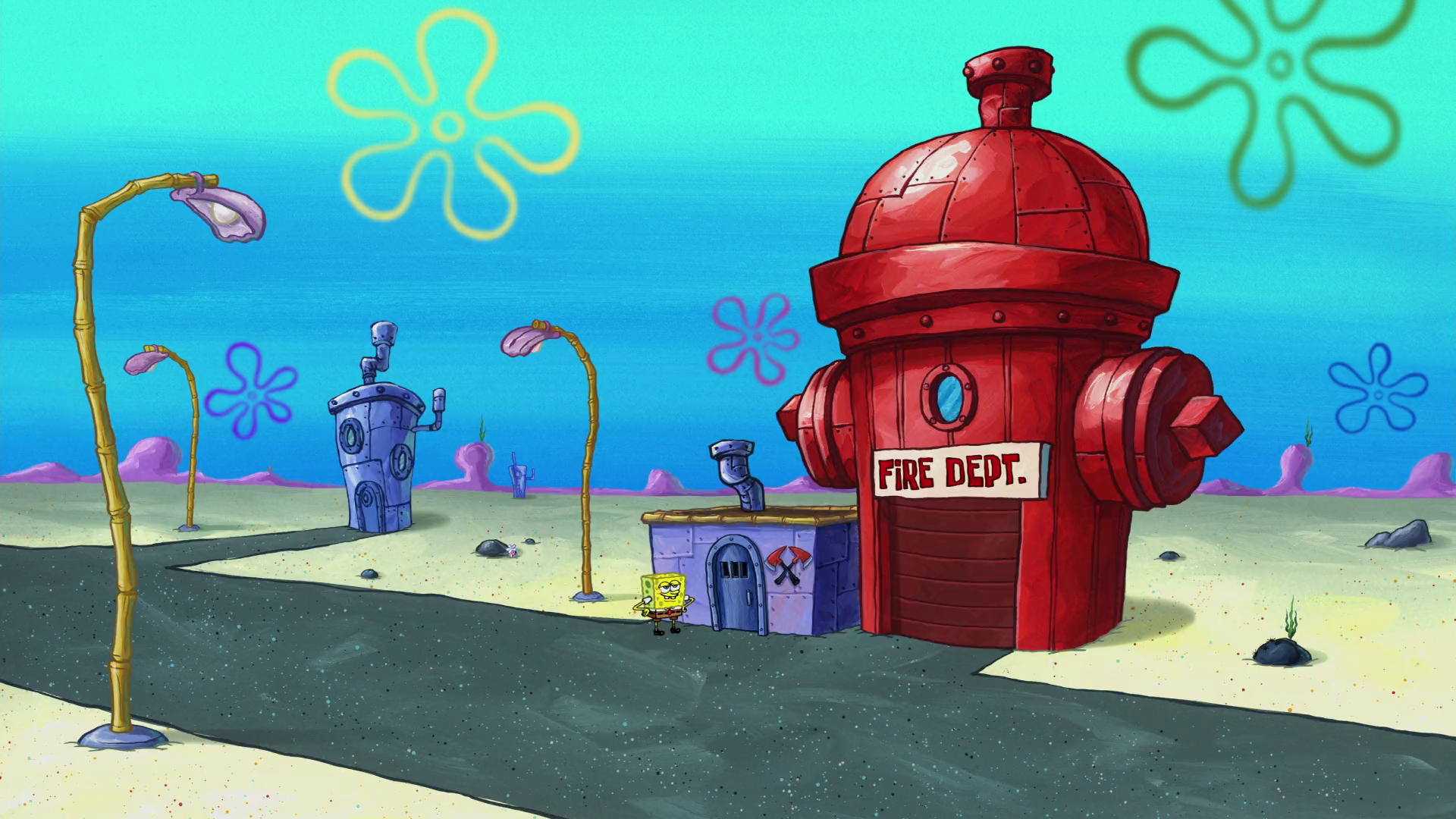 Bikini Bottom Fire Department
