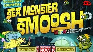 SpongeBob_SquarePants_-_Sea_Monster_Smoosh