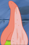 Patrick with a Scraped Front
