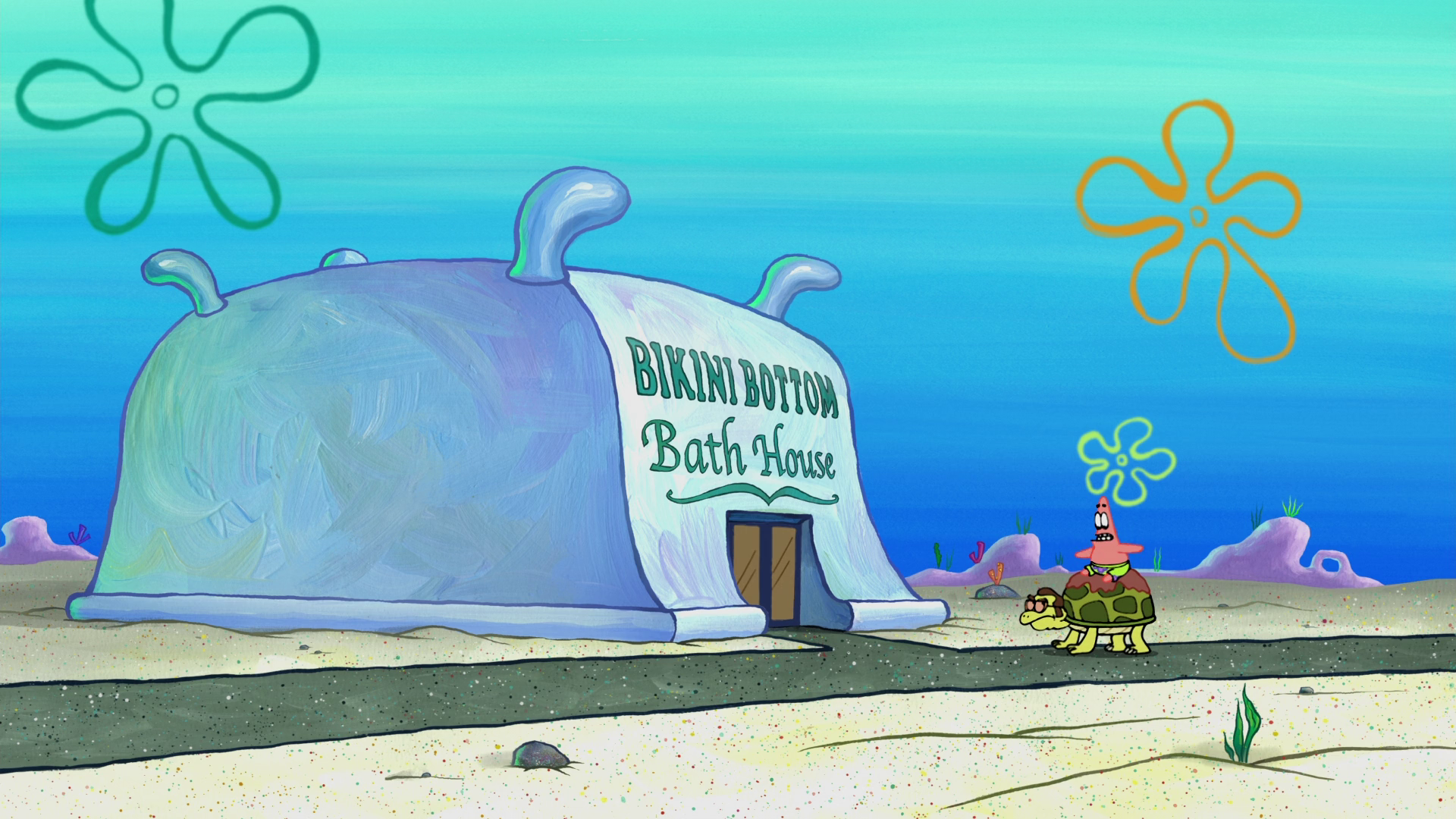 Bikini Bottom Bath House