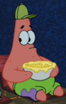Patrick Wearing a Cap