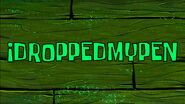 Idroppedmypen title card by Egor