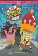 The SpongeBob SquarePants Movie Australian DVD