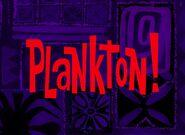 Plankton! title card
